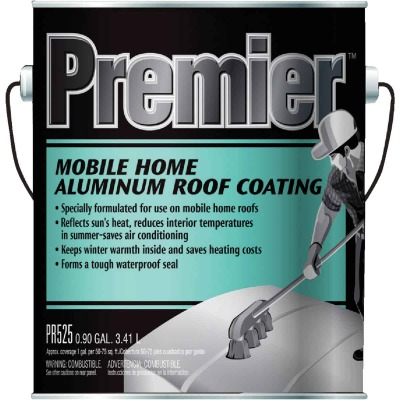 Premier 525 1 Gal. Mobile Home Aluminum Roof Coating