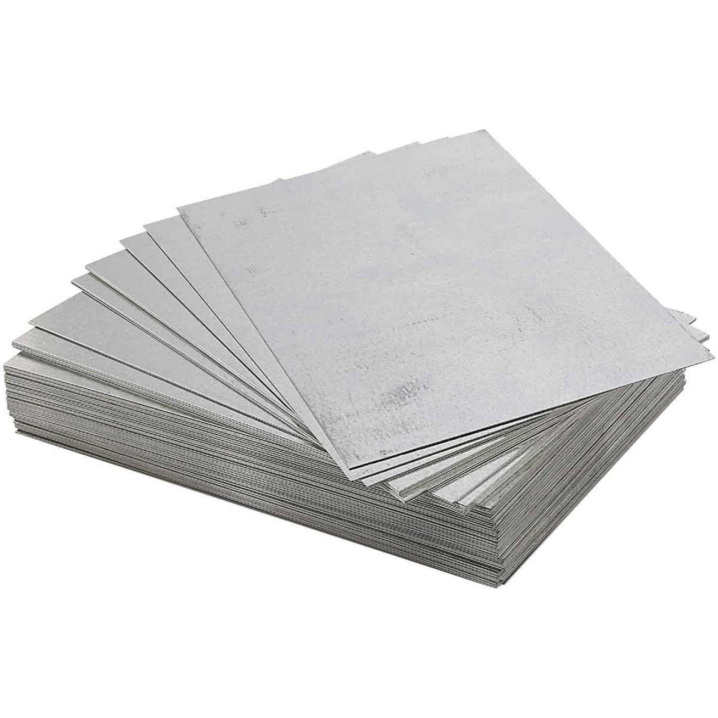 NorWesco 8 In. x 12 In. Mill Galvanized Step Flashing Shingle Image 1