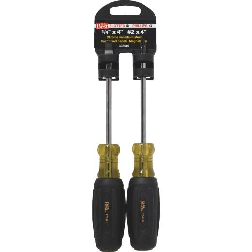 Do it Slotted & Phillips Screwdriver Set (2-Piece)