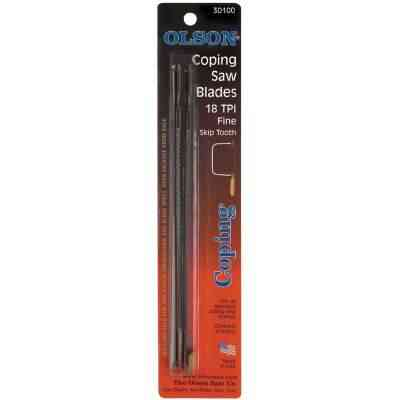 Olson 6-1/2 In. 18 TPI Skip Tooth Coping Saw Blade (4-Pack)
