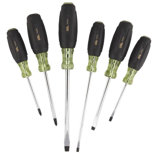 Do it Best Professional Cushion-Grip Screwdriver Set (6-Piece)