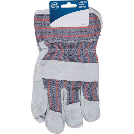 Smart Savers Men's 1 Size Fits All Leather Work Glove